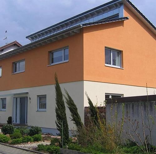 Hausaufstockungen, Aufstockungen aus  Breunigweiler